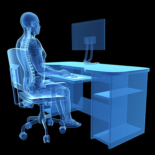 Ergonomic evaluations for workspaces