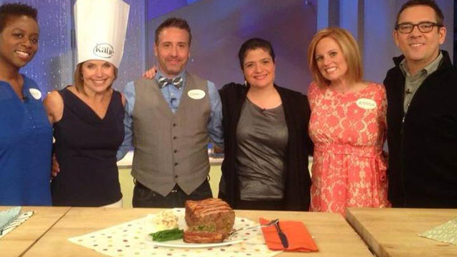 Jessica Mack on The Katie Couric Show
